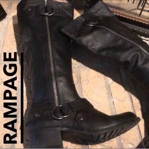 Shoes - COMBAT RIDING BOOTS